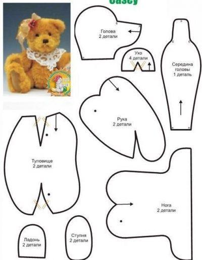 molde de cara de oso