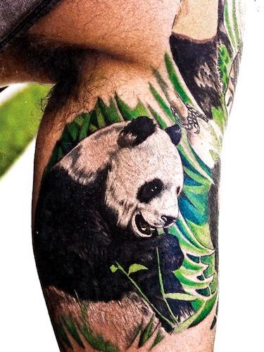 tatuajes de oso panda