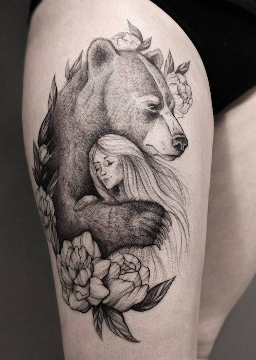 Tatuajes De Osos Panda Polares Grizzly Significados Deosoes