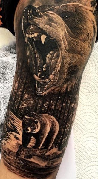 tatuajes de osos tribales