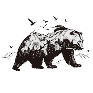 tatuajes de oso